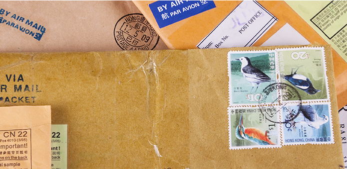 Stamps and Mail
